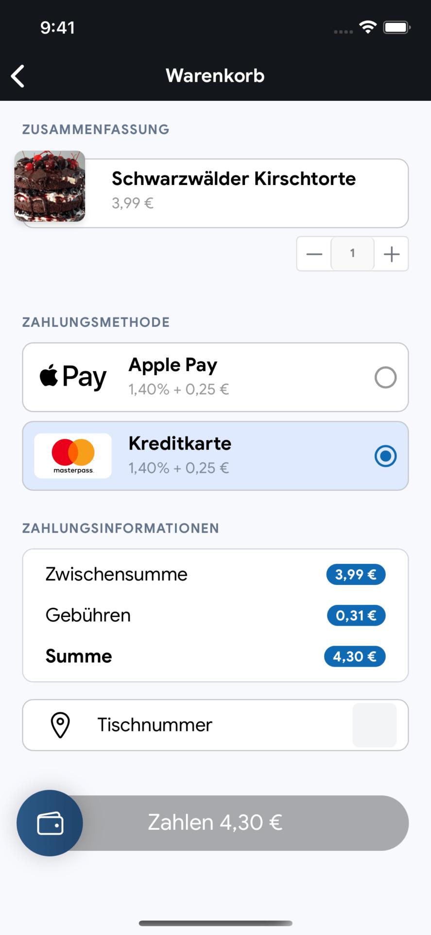 bezahlen